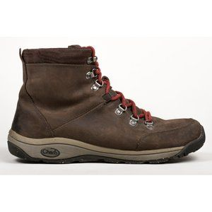 Chaco Mens Roland Brown Leather Hiking Trail Boots
